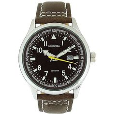 Sekonda Gents Brown Dial Date Strap WR Watch 3882 by Sekonda, http://www.amazon.co.uk/dp/B002JOIO4O/ref=cm_sw_r_pi_dp_Y8xdrb07E8209/277-6438366-9353230