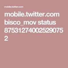 mobile.twitter.com bisco_mov status 875312740025290752