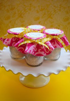 Home Made Easy Bake Oven Cake Mix & Mason Jar Packaging | Double the Fun Parties ®