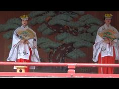 Shrine maiden's ceremonial dance in Sanja Festival 2012 (Asakusa Shrine in Tokyo) 巫女舞 - YouTube