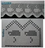 Crochet Curtains, Tapestry Crochet, Crochet Doilies, Crochet Lace, Crochet Borders, Filet Crochet, Crochet Stitches, Doily Patterns, Crochet Patterns