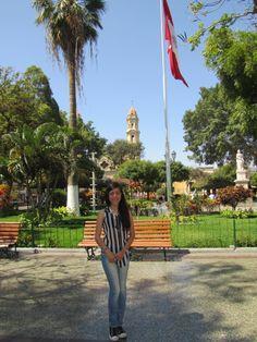 Plaza de Armas de Piura al norte del Perú. www.fb.com/placeok
