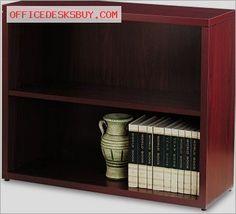 HON 105532NN 10500 Series Bookcase - Mahogany - http://officedesksbuy.com/hon-105532nn-10500-series-bookcase-mahogany.html