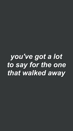 stay with me // you me at six