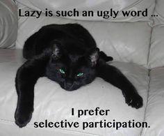 selective participation..