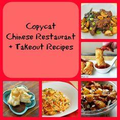 Copycat Chinese Restaurant Recipes