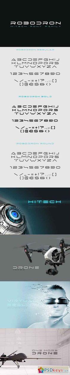 Robodron font 1313491