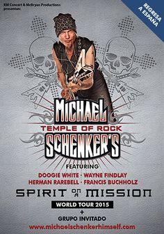 Concierto de Michael Schenker en Madrid