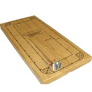 Large Four Track Continuous Cribbage Boards available at cribbagesupply.com  #cardgames