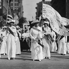 Happy #WomensEqualityDay. FYI this is what a rebel looked like many moons ago. These women fought for their right to vote in white dresses, gloves and finery in order to seem unimpeachable to an opposition that attempted to brand suffragettes as freak outsiders unwelcome by the mainstream. On Women's Equality Day, we must celebrate those who fight for social justice and progress. #BEYOUROWN 🙋🏻🙎🏿🙅🏼