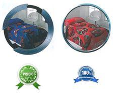EDREDÓN COLCHA REVERSIBLE SPIDERMAN CARS, 90CM, PRODUCTO OFICIAL, PRECIO + BAJO