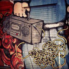 Grafitti en Santiago