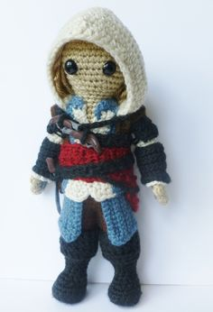 #Assassin's Creed 4 Black Flag, #Edward Kenway, #amigurumi