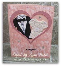 Custom Tee wedding card Blooms & Bliss DSP
