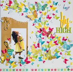 Love this - and how she used the kraft envelope!