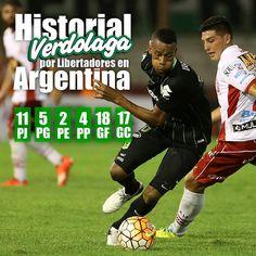Desempeño de Atlético Nacional en los partidos jugados en Argentina por Copa Bridgestone Libertadores.  Vía @nacionaloficial