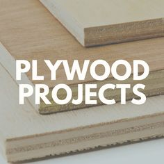 Projects to Make From a Single Sheet of Plywood! Plywood is a unique material that offers many advantages for your DIY and home improvement projects. Inexpensive,  attractive, and eco-friendly, it's no surprise plywood is trending in home design and decorating.  It's great for building bookcases, shelving, cabinets, and - with a little imagination - a single sheet of plywood can be transformed into stunning decor and furniture pieces for your home. #diyfurniture #diyhomedecor #woodworking