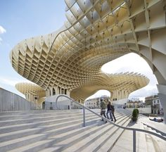 .. Metropol Parasol, photographed by Hufton+Crow