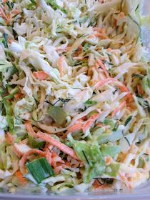 Fresh Mama Fitness and Health: Creamy Dill Cole Slaw