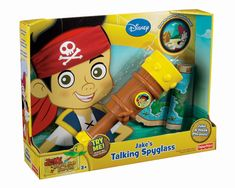 My grandson is turning 2 years old this year. What toys would be good suggestions for a 2 year old boy this year for Christmas? He really favors the Jake and The Never Land Pirates tv series. So, I may lean a little heavy towards toys from that serie