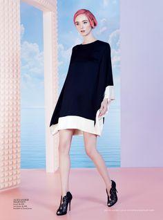 Jayne Baily by Nicole Bentley for Vogue Australia May 2015 - Alexander McQueen