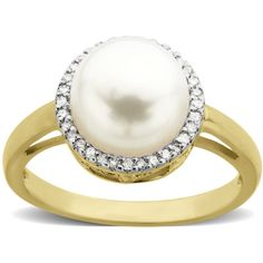 Lord & Taylor Pearl And Diamond