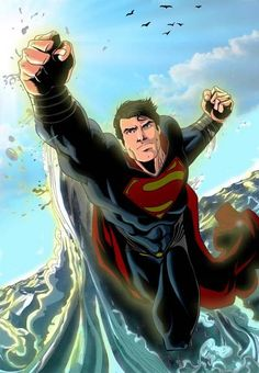 Superman/man of steel/kal-el/Clark kent Superman Movies, Superman Family, Superman Stuff, Superman Art, Bruce Timm, Justice League, Action Comics 1, Superman Man Of Steel, Lex Luthor