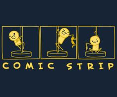 """Comic Strip"" T-Shirt"