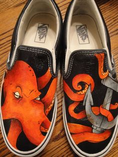 Octopus Shoes by Hellasure