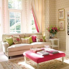 Total girly chic!  Would love to have this as an extension of my bedroom.