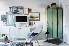 Dónde colocar la televisión - http://decoracion2.com/donde-colocar-la-television/63115/ #AccesoriosDeLaDecoración, #ComoDecorar, #Decoración, #Televisión
