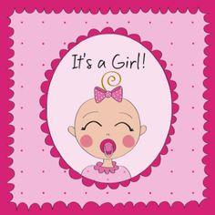Is er een meisje geboren? Verras de kersverse ouders met dit schattige kaartje van Anne Sara van Hallmark Cards. #annesara #hallmark