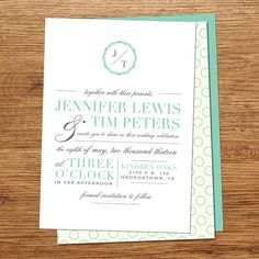 Vintage Column Wedding Invitations by kxodesign on Etsy, $3.99