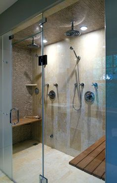 plan on a big shower for the master, but not sure if we have this much room