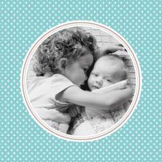 Carte de remerciement (thank you card) : Merci motif chic médaillon - by Tomoë pour http://www.fairepartnaissance.fr #naissance #remerciement #birth