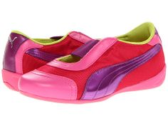 Puma Kids Sneakerina (Toddler/Little Kid/Big Kid) Virtual Pink/Fluo Pink/Sparkling Grape - Zappos.com Free Shipping BOTH Ways