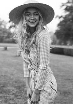 Gigi Hadid, Italian Vogue #gigi_hadid_portrait