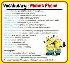 Forum | ________ Learn English | Fluent LandVocabulary: Mobile Phone | Fluent Land
