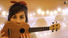 [Dodie] I smile and pick up my ukulele. I start singing, I wasn't really sure what about, but I was having fun. I strum random cords and just sing nonsense.