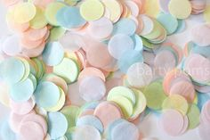 Sunshine Baby Showers, Pastel Candy, Clear Balloons, Paper Confetti, Rainbow Food, Rainbow Wedding, Rainbow Aesthetic, Pretty Pastel, Cute Wallpapers