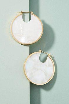 Studio Elke Solar Eclipse Hoop Earrings
