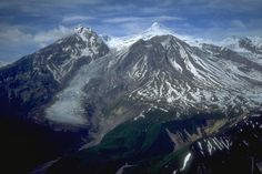 Mount Spurr - Wikipedia.  I was there for the 1953 eruption.  The ash blanked out the sun at Anchorage.