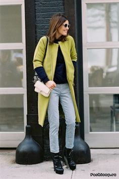 Уличная мода: пальто