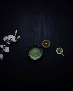 Matcha is a stone-ground powdered green tea used in traditional Japanese tea ceremonies. According to 8th century Zen Buddhist Eisai matcha is the ultimate mental and medical remedy and has the ability to make ones life more full and complete. : @urbanxko