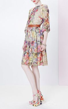 Printed Dress by Blugirl for Preorder on Moda Operandi