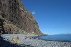 Pebble beach Fajãs do Cabo Girão, Madeira, Portugal Exploring Madeira by sidecar: an exhilarating introduction to the island – By Julie Dawn Fox via Portuguese American Journal
