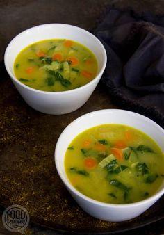 Broccoli Potato Cheese Soup, Sweet Potato Soup, Vegetarian Recepies, Vegan Recipes, Cooking Recipes, Vegan Soups, Whole Food Recipes, Soup Recipes, Chicken Recipes