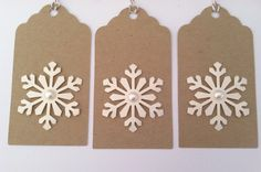 Christmas Gift Tags Holiday Gift Tags Kraft by TerrysCards on Etsy, $5.00