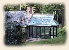 This solarium is the perfect size and shape.