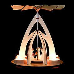 1-stöckige Pyramide mit Engeln (25cm) von Rauta